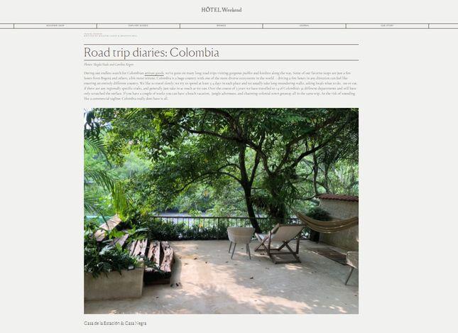 Squarespace Travel Blog Example