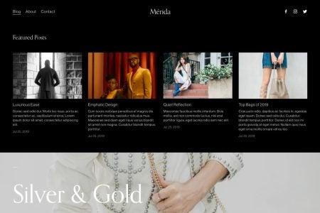 Fashion Blog Squarespace