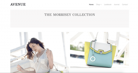 Weebly Fashion Template