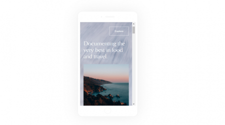 Squarespace Mobile View