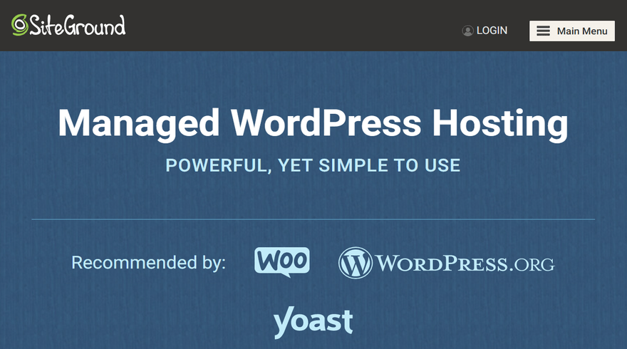 SiteGround WordPress Plans