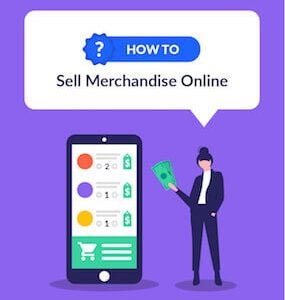How to Sell Merchandise Online featured image