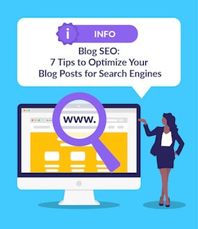 Blog SEO featured image