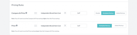 Modalyst Pricing Rules