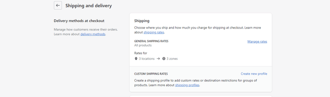 Shopify Shipping Portal