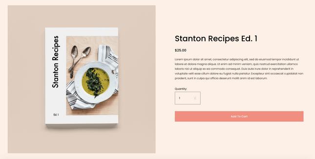 Stanton website template