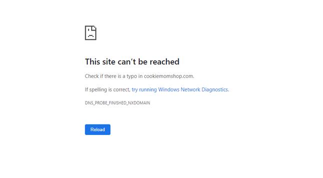 website crash expired domain