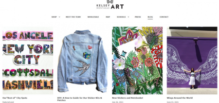 Kelsey Montague Art WordPress