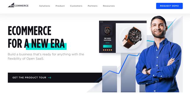 BigCommerce homepage