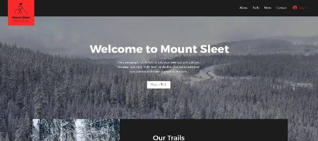 Mount Sleet