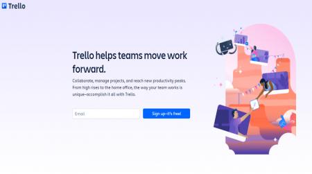 trello website illustration background example