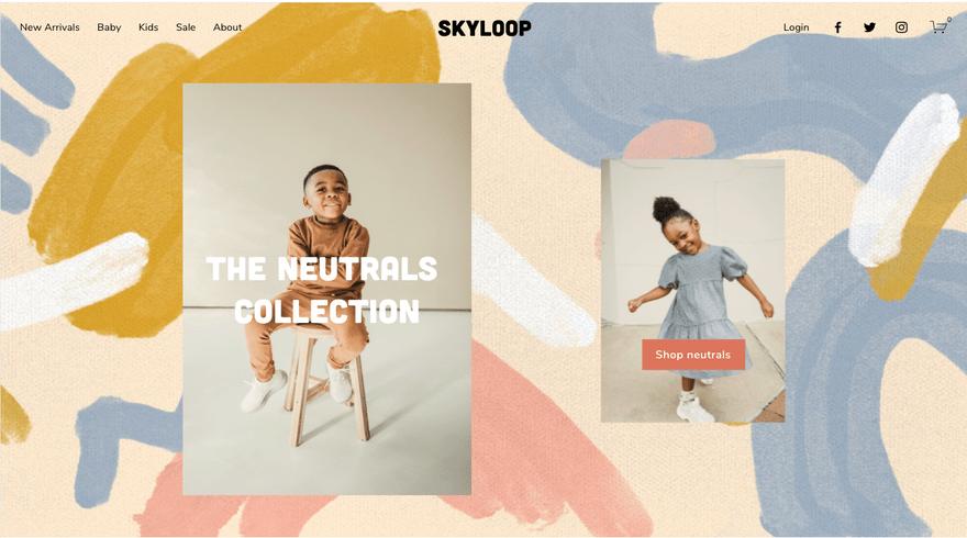 Skyloop Squarespace